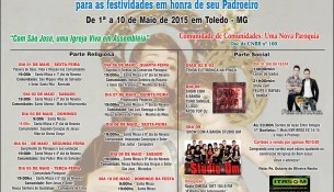 Cartaz Festa Padroeiro