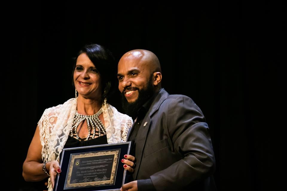 Sra. Márcia Andreia da Silva Pinto/Vereador: Edvaldo de Souza Santos Junior (Juninho) – Presidente
