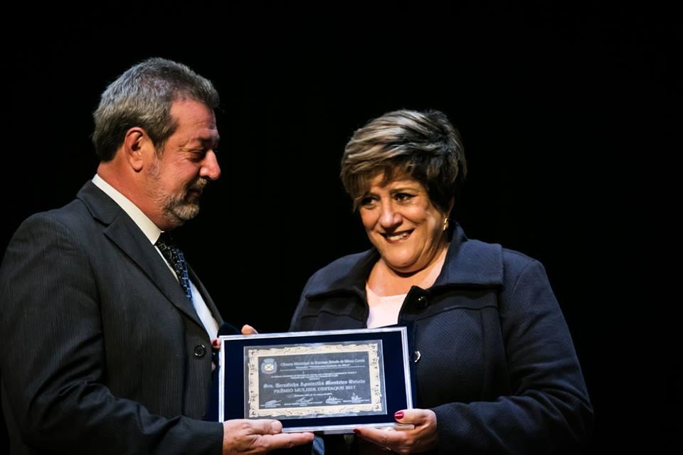 Sra. Terezinha Aparecida Monteiro Onisto/Vereador: Dr. Roberto de Cunto