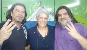 Secretário de Cultura Pablo Farina, Dra. Marizilda Lopes e Ufólogo Marco Antonio dos Santos