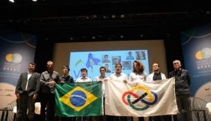 Foto da equipe brasileira que disputou a Olimpíada Internacional de Matemática - Foto: Tânia Rêgo/Ag. Brasil/Arquivo