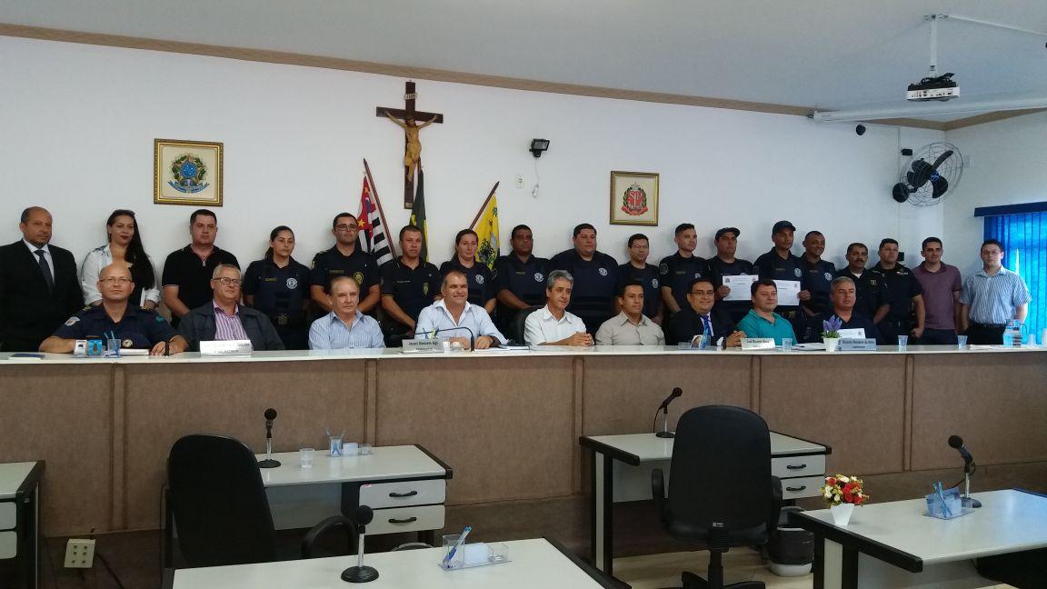 19.01.2018 Formação dos guardas da GCM de Pinhalzinho 3