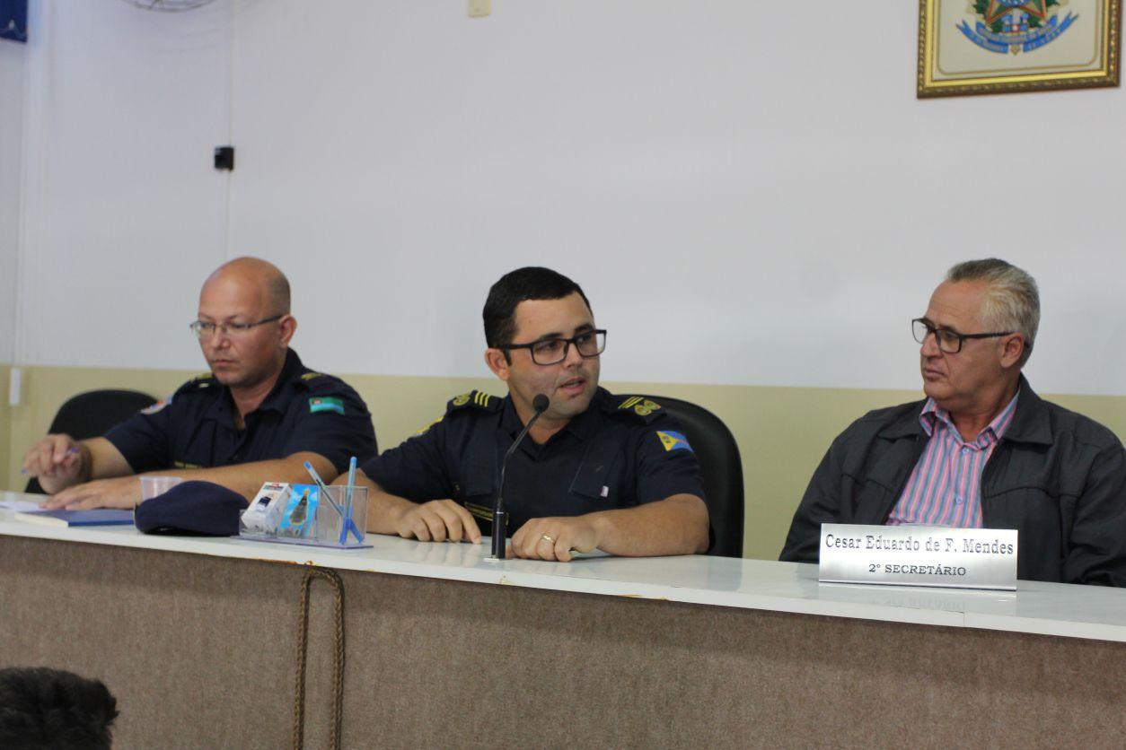 19.01.2018 Formação dos guardas da GCM de Pinhalzinho