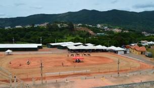 Prefeitura preparou estrutura completa no Parque de Eventos site