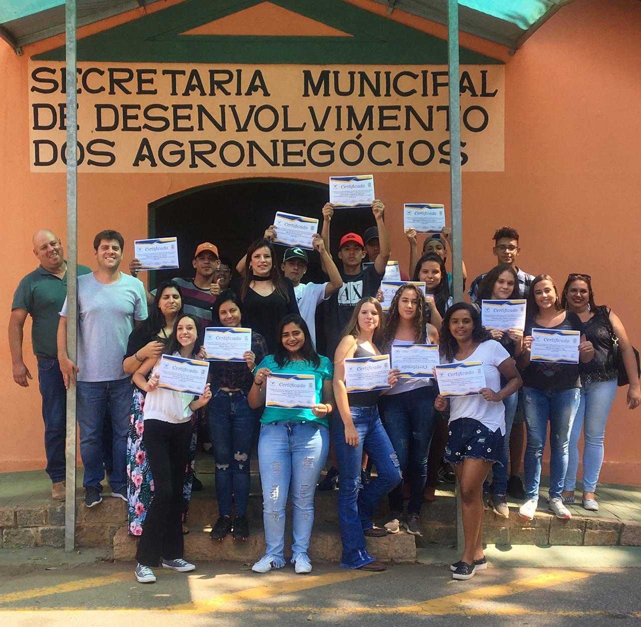 07.12.2018 Entrega dos Certificados jovem agricultor do Futuro