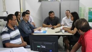 Foto: Reunião de capacitação dos gestores