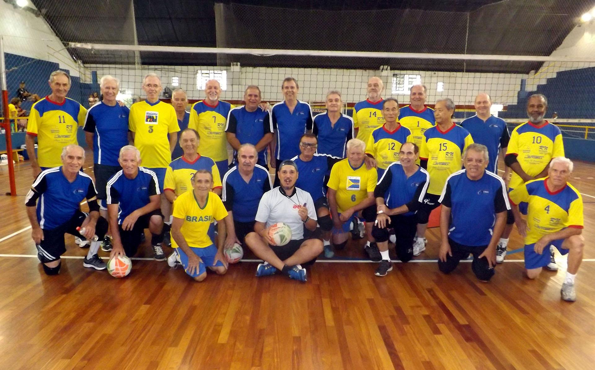 Equipes de voleibol Masculina