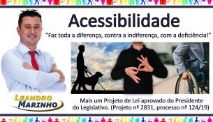 Acessibilidade Learndro Marinho