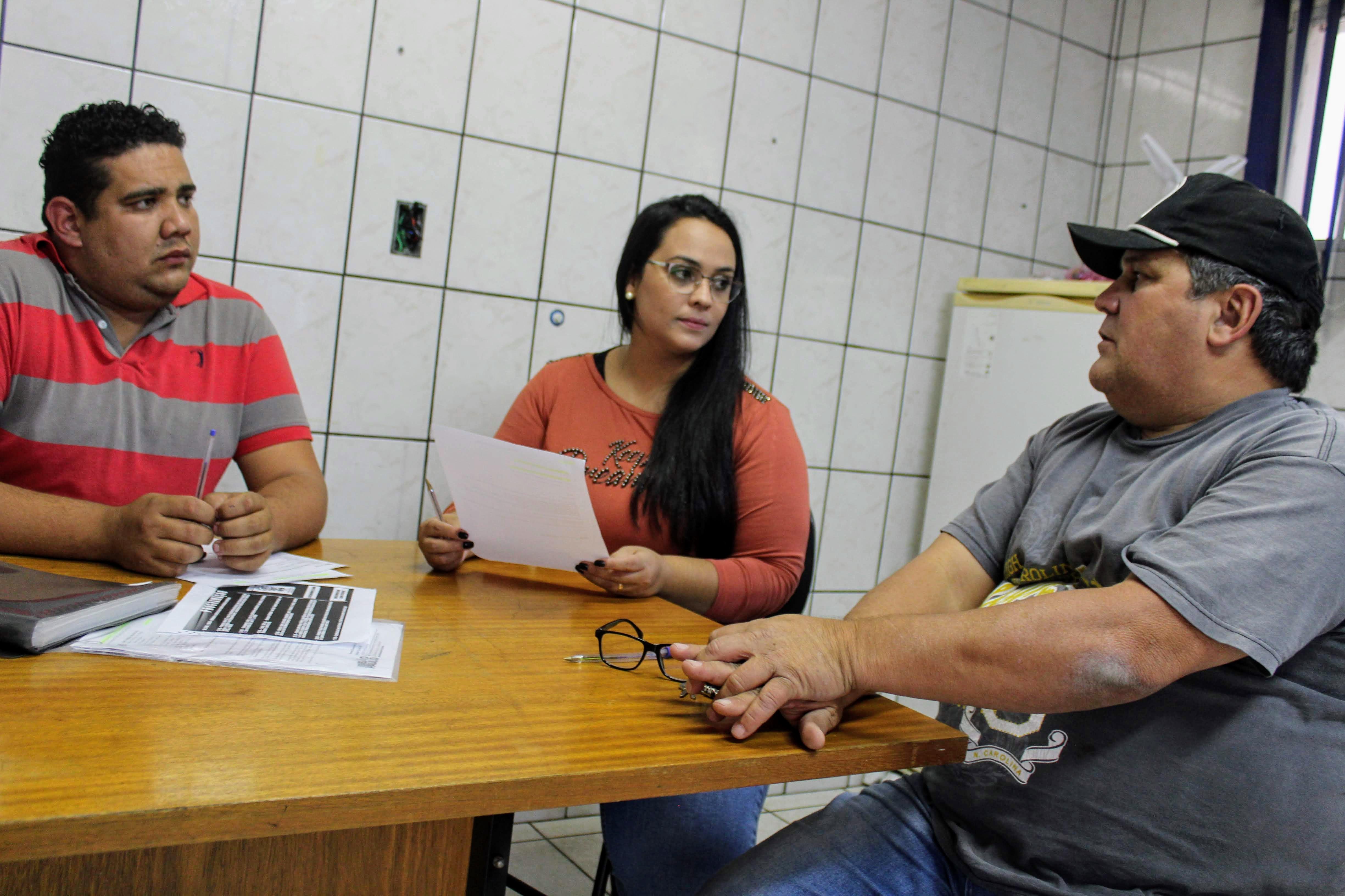 Equipe que participará da 8ª Conferência Estadual de Saúde de São Paulo -