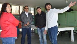 Prefeitura e Câmara visitam Odete Valadares