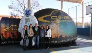 Planetário na EM Prof. Dr. Francisco Murilo Pinto (2)