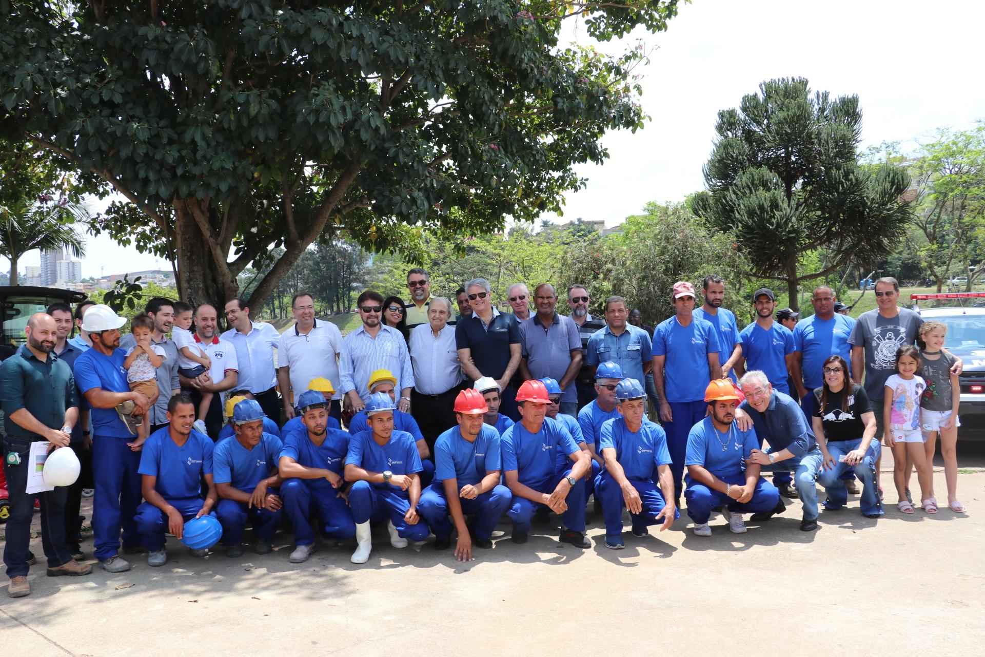 19.10.2019  Obras de Revitalização do entorno do Lago do Taboão (3)