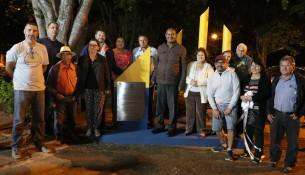 06.11.2019 Revitalização Praça Michele Barrese - Vila Municipal