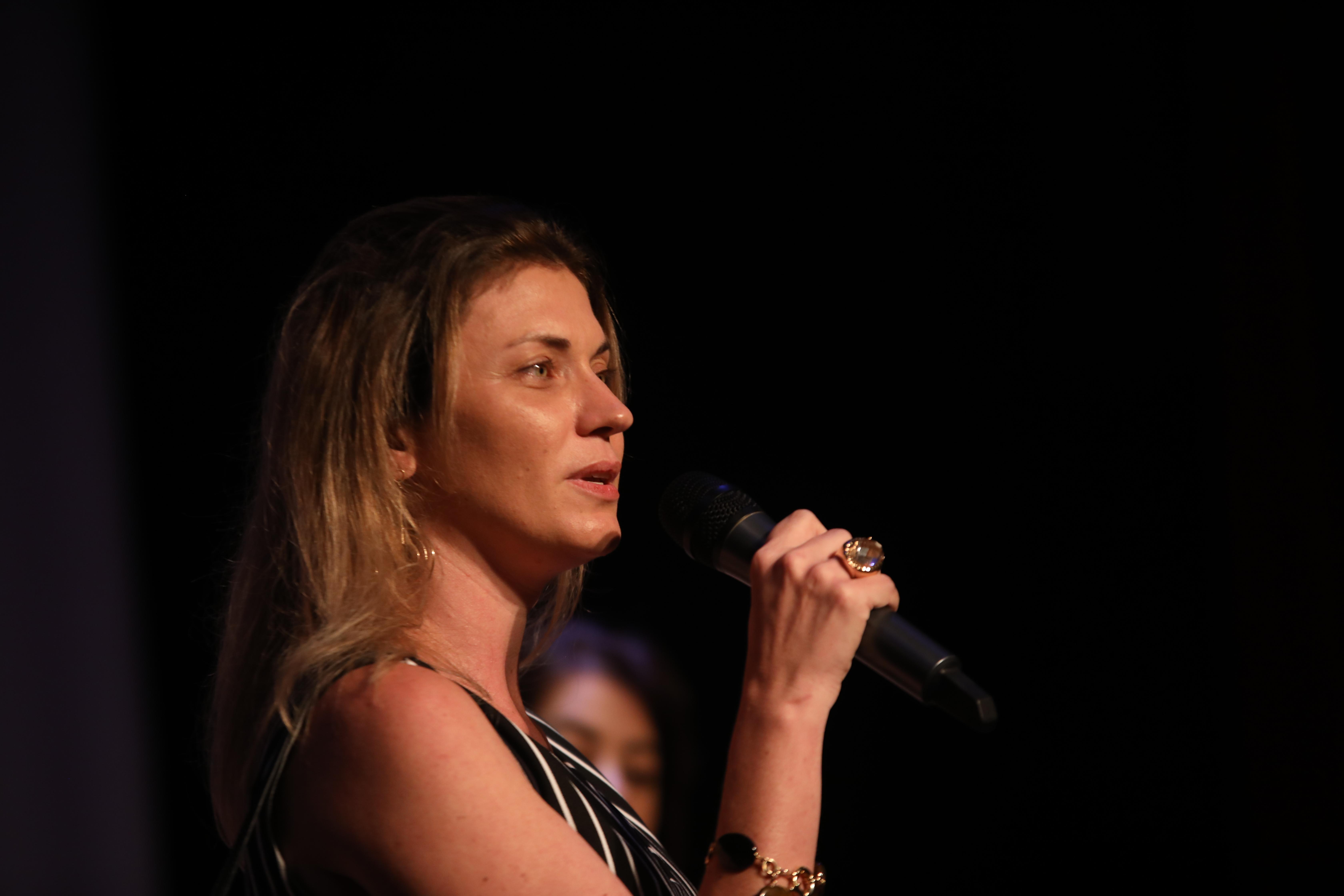 A veterinária Karina Rubin falou da importancia do movimento
