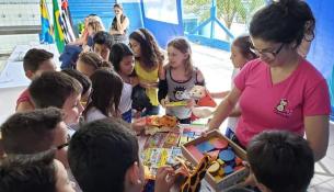 "Escola Municipal Zitta de Mello recebe o projeto ""Baú de História"" (10)"
