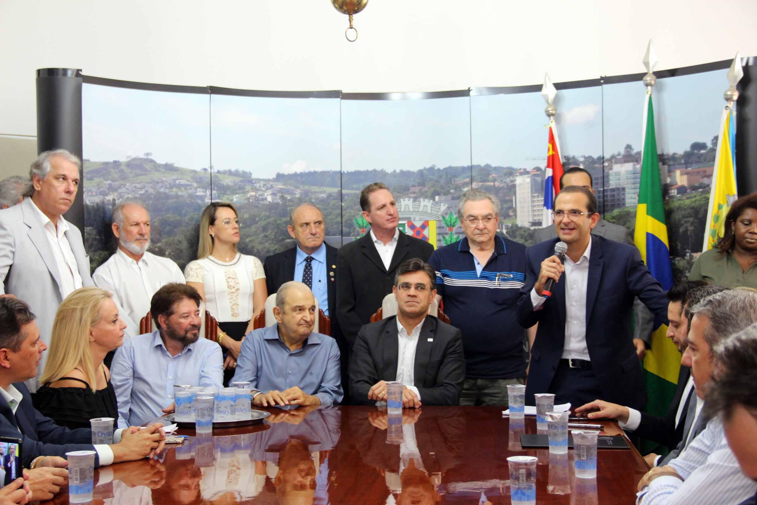 22.01.2020 Evento no Gabinete Governador em Exercicio Rodrigo Garcia