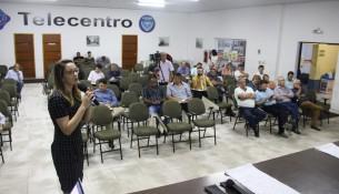 Audiensia Publica Consana em Bragança Paulista sobre contratação de empresa para prestação de serviço de  Água e Esgoto