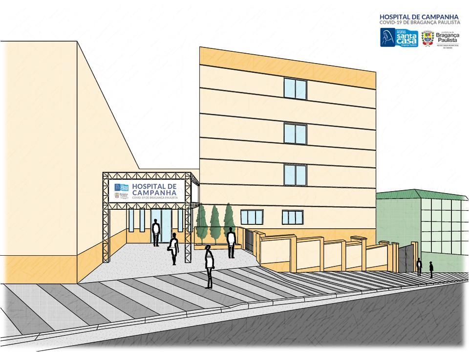 06.04.2020 Fachada projeto hospital Campanha