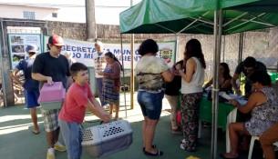 Castramóvel atende região dos bairros Araras dosPereiras e Águas Claras neste final de semana - Foto Arquivo