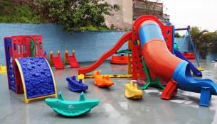 Escola da Rede Municipal no Parque dos Estados é reformada e revitalizada (1)