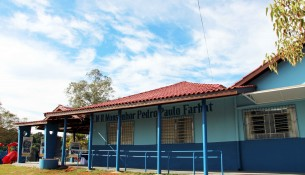 Escola rural de Bragança Paulista é destaque no Projeto Gota d'Água 2020 - foto arquivo SECOM