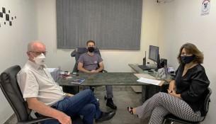 13.01.2021 Foto Legenda- Secretários se reúnem com Polícia Militar 1