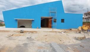 Obra de construção da creche do bairro Henedina Cortez entra na fase final (1)