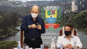 12.02.2021 Assinatura ordem de serviços Jardim Publico e Ginasio Ercolini 1