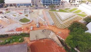 24.03.2021 Drone Concretagem ponte Praça da Poesia_2