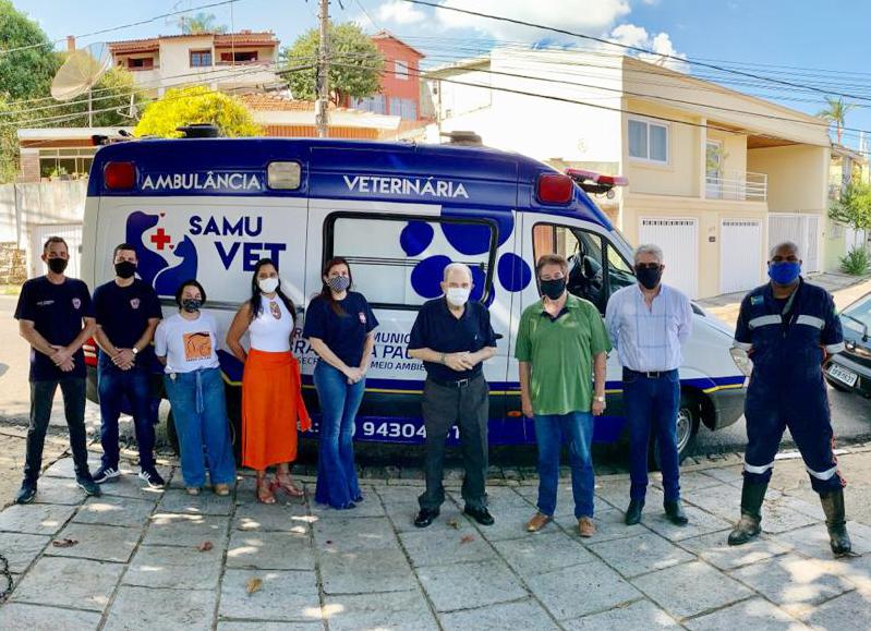30.03.2021 Prefeitura adquire nova ambulânciapara o SAMUVET (2)