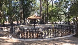 06.05.2021 Andamento da obra de revitalização do Jardim Público 3