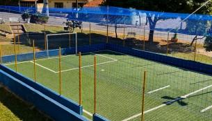 02.06.2021 Prefeitura instala redes de proteção nas quadras society dos CILES (4) - CILES São José