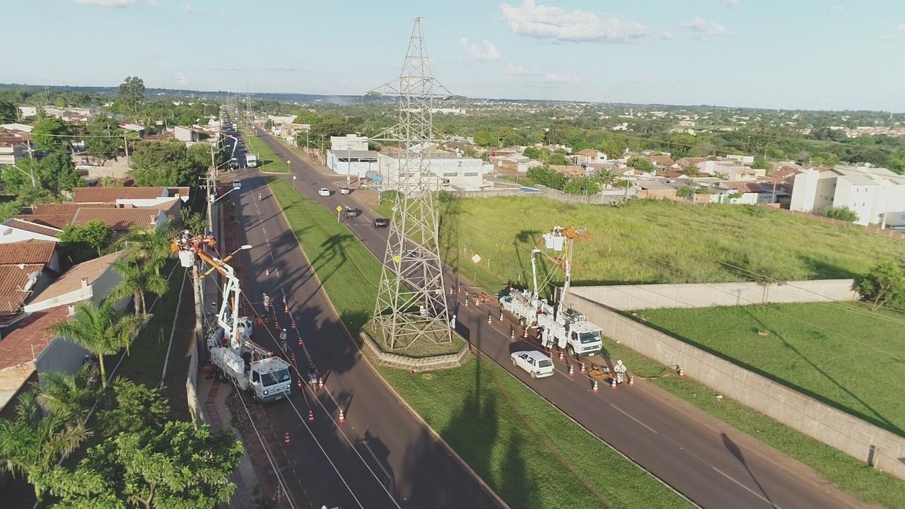 Distribuidora tem o compromisso de expandir e melhorar os serviços de energia elétrica nas áreas urbanas e rurais